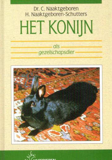 Het konijn als gezelschapsdier