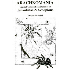 Tarantulas & Scorpions, General Care and Maintenance of