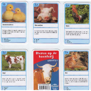 Dieren op de Boerderij - Kwartet