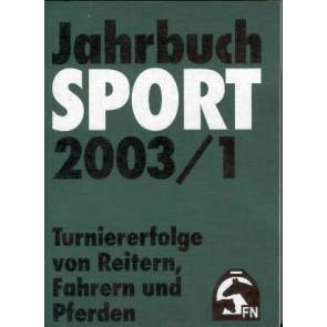 Jahrbuch Sport 2003
