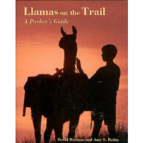 Llamas on the trail