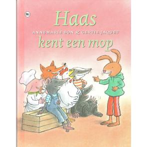 Haas kent een mop