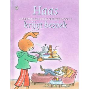 Haas krijgt bezoek
