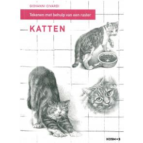 Katten - tekenen met behulp van een raster
