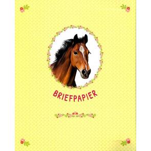 Briefpapier map Paarden